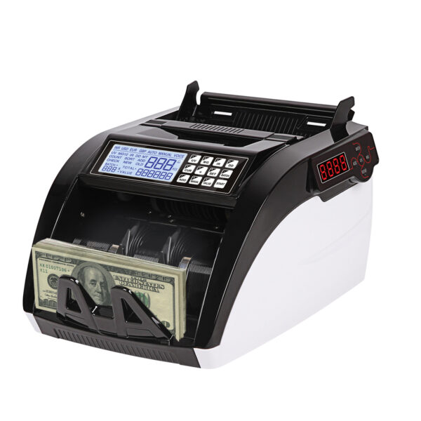 Reiko Money Counting LED Display With UV, Magnetic And Infrared Detection in Black