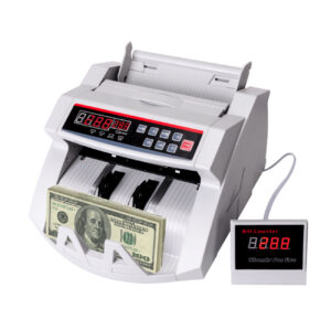 Reiko Money Counting LED Display With UV, Magnetic And Infrared Detection in White