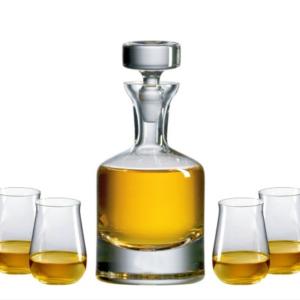Buckingham Scotch Decanter Gift Set