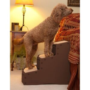 Easy Step III Extra Wide Pet Stairs - Chocolate PG9730XLCH