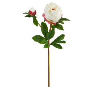 "22"" Peony Artificial Flower (Set Of 3)"
