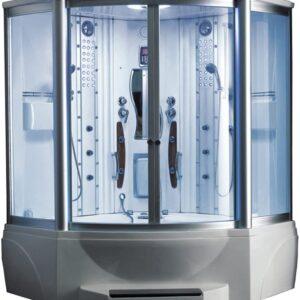 ARIEL WS-608A Steam Shower with Whirlpool Bathtub