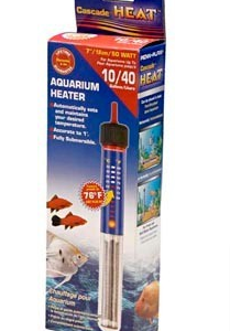 Cascade 50 Watt Submersible Aquarium Heater CH850