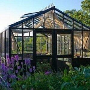 Exaco Trading Retro Royal Victorian VI 34 Greenhouse with Decorative Panels and Narrow Glass