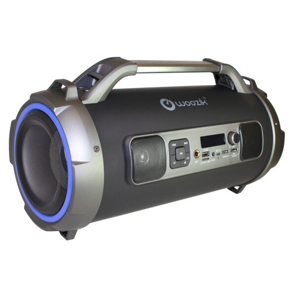 Rockit Pro Bluetooth Speaker with FM Radio Micro SD MIC Aux Support LED Lights Subwoofer