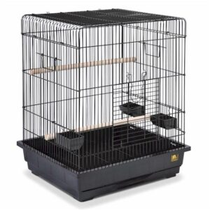 Square Roof Parrot Cage PP-25217