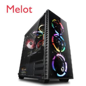 SQR Ningmei GTX1660 6G Core i7 9700K Fashion Stock Gaming Pc desktop Computer