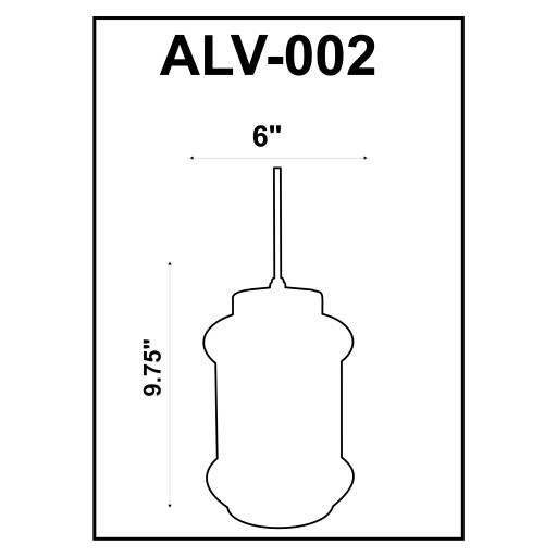 Alvo ALV-002 Ivory, Gold Antiqued Glass,Metal Fixture 1 Light Pendant