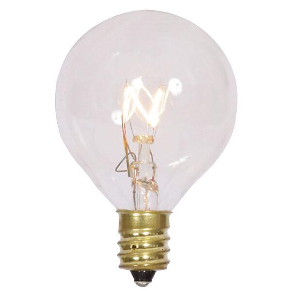 Vickerman G40 Clear Twinkle Bulb 120V 7W E12 5/Box V145546