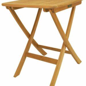 "Anderson Teak TBF-024S Windsor Square Picnic Folding Table, 24"""