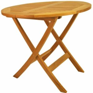 Anderson Teak Windsor Round Picnic Folding Table, 31-Inch