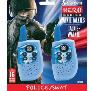 Altis Global Limited Two Pack Hero Police/Swat Two Way CBA-HE130B