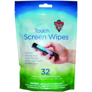 Dust Off Screen Wipes 32 Pack FLCNDTSW32M