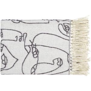 Surya Jacquie JAC-1001 Throw Blanket