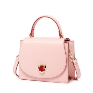 JUST STAR 2019 New Valentine's day Series Handbag Pink