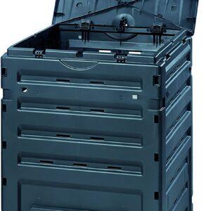 Exaco 628001 Eco Basic Compost bin, 120-Gallon, Black