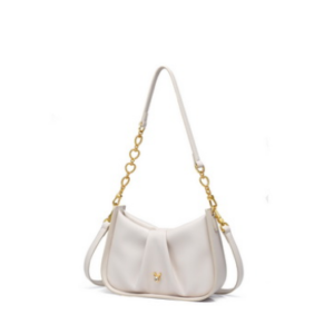 JUST STAR 2021 New Fashion Casual Sweet Heart Chain Women Shoulder Bag White