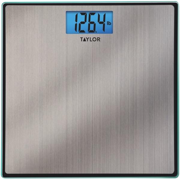 Taylor Digital Stainless Steel Bathroom Scale