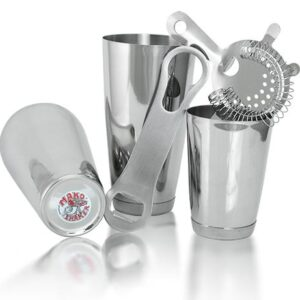 5 Piece Stainless Steel Bar set with V-Rod