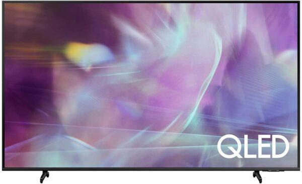 SAMSUNG 75-Inch Class QLED Q60A Series - 4K UHD Dual LED Quantum HDR Smart TV with Alexa Built-in (QN75Q60AAFXZA, 2021 Model)